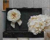 Wedding Card Trunk / Rustic Wedding Card Box / Large Wedding Card Holder / Black Wedding Trunk / Wedding Decorations / Wedding Card Case