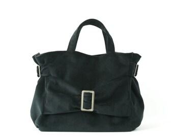 TINA, Mouse BLACK VELVET handbag, Glamourous evening Handbag,Handmade in Paris