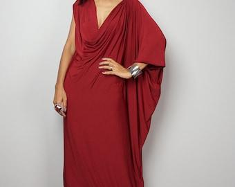 Burgundy Dress - Trendy Maroon Maxi Dress : Funky Elegant Collection 25