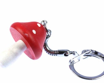 [BUNDLE] Mushroom fly agaric mushroom red key