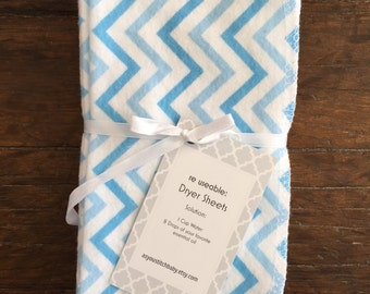 Cloth Dryer Sheets. Reusable dryer sheets. Chemical Free Laundry. 100% cotton. Natural.