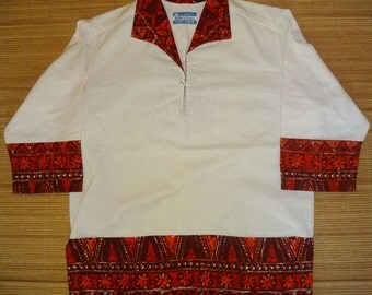 Mens Vintage 60's Waltah Clarkes Hawaiian Aloha Shirt - M -  The Hana Shirt Co