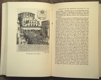 Italian Renaissance book, Pope Alexander VI  At the Court of the Borgias, 1960s vintage book