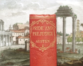 Pride and Prejudice vintage book by Jane Austen