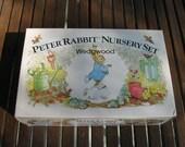 Peter Rabbit Nursery Set Wedgwood NIB