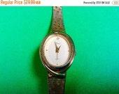 WATCH CLEARANCE EVENT Timex womens wrist watch vintage 1980s watch