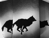 Save the Wolves/// Moleskine Notepads