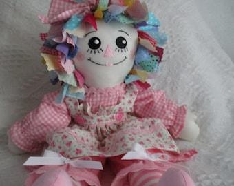 Rag Hair  Raggedy Ann Doll