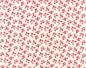 Little Ruby cotton fabric by Bonnie and Camille for Moda fabric 55133 17
