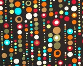 C274- 140cmx100cm Cotton  Fabric - Dot and circle