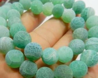 48 AGATE Gemstone Beads 8mm - COD0275