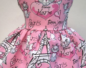 Merci Paris Sleeveless Dress for your American Girl Doll A