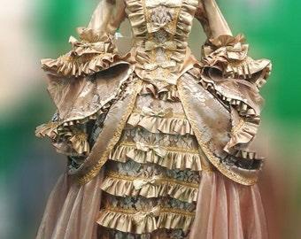 Europeans Renaissance Queen Elizabeth Dress Gown XS-XL