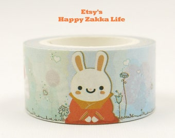 Rabbit Master - Japanese Washi Masking Tape - 20mm Wide - 5.5 Yards