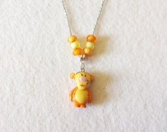 Tiger  Figurine Necklace