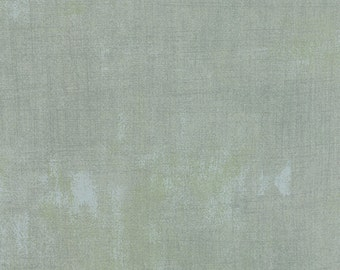Gray/Blue Grunge Fabric by Basicgrey from Moda - 1/2 Yard - Pair with Mon Ami Fabric!