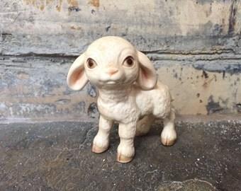 Goebel Lamb Figurine - Goebel W.Germany Pottery - West Garmany Pottery - Vintage Lamb