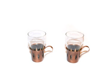 Copper Glasses Copper Mugs Hot and Cold Mugs Coppercraft Glassware