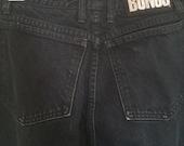90s Vintage Bongo Black Jeans Tapered Skinny Leg Highwaisted Size 9 26 Waist
