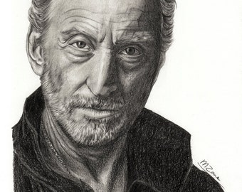 A4 Art Print Charles Dance / Tywin Lannister