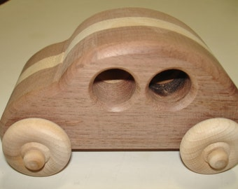 Natural Wood- Child's Toy - CoolCar - Natural Wood - Childrens Toy - Waldorf - Pretend  Play