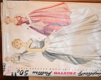 Vintage Simplicity Dress Pattern #4440