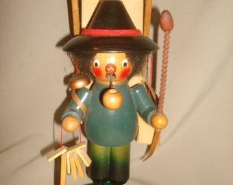 Vintage Steinbach Wood Smoker PEDDLER MERCATOR Germany