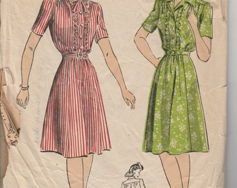 1940's Sewing Pattern DuBarry 5866 size 14