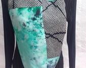 Beautiful infinity scarf, vintage kimono silks, FREE SHIPPING