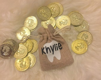 Personalized Toothfairy bag