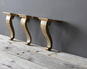 r e s e r v e d Gilt Wooden Italian Wall Shelf