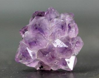 Amethyst Rose Cluster Light Purple, Semitransparent Stalactite Button Flatback Cluster Centerpiece Jewelry Metaphysical Beginner Tutorial