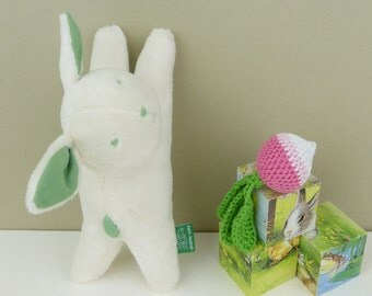 Easter bunny rabbit, plush bunny rabbit, baby plush toy, stuffed bunny rabbit soft toy, baby gift for Easter, toddler gift for Easter
