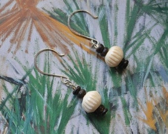 Handmade Vintage Bead Dangle Drop Earrings
