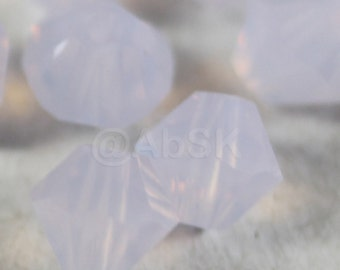 Swarovski Crystal Beads BICONE 5328 5301 crystal beads VIOLET OPAL - Available in 3mm, 4mm, 5mm and 6mm