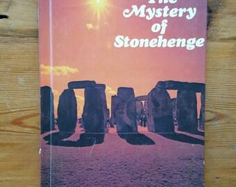 Vintage Hardback 1977 Stonehenge Nancy Lyon  Raintree Children's Book Ancient History Druids