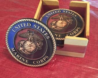 United States Marine Corps Coasters