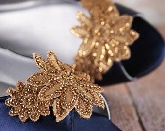 CUSTOM CONSULTATION:  Navy Blue Wedding Shoes, Something Blue, Bling Wedding, Wedding Flats, Custom Wedding, Shoes, Wedding Shoe Bling
