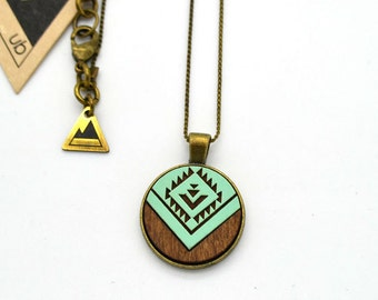 The Georgie - Small Wood Necklace