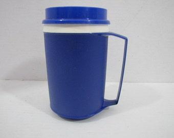 Aladdin Mug Blue w Lid 12 oz. #021116