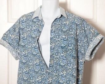 Vintage 90s Short Sleeve Button Shirt - ARIZONA - L