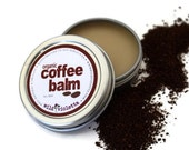 Coffee Balm // All Natural Organic Shea Butter Antioxidant Balm for Coffee Lovers