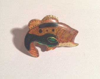 Vintage trout pin