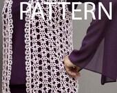 Tatting pattern -  Tatting needle - Cro-tatting - tatting vest pattern -  PDF pattern
