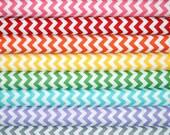 Fat Quarter Fabric bundle for quilt or craft Riley Blake Chevron fabric Stash Builder bundle 8 fat quarters