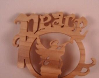 Angel & Peace Ornament