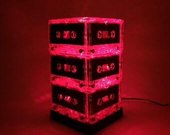 90s Music Lover Retro Mixtape Cassette Tape Night Light Lamp Plug-in Mood light