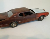 Classicwrecks ,Rusted Scale Model, Thunderbird Car,RatRod,1/24 Scale