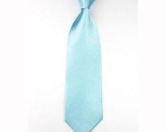 Mens Wedding Tie light blue