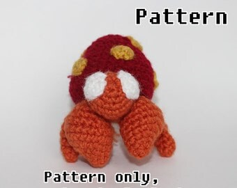 Parasect Crochet Pattern